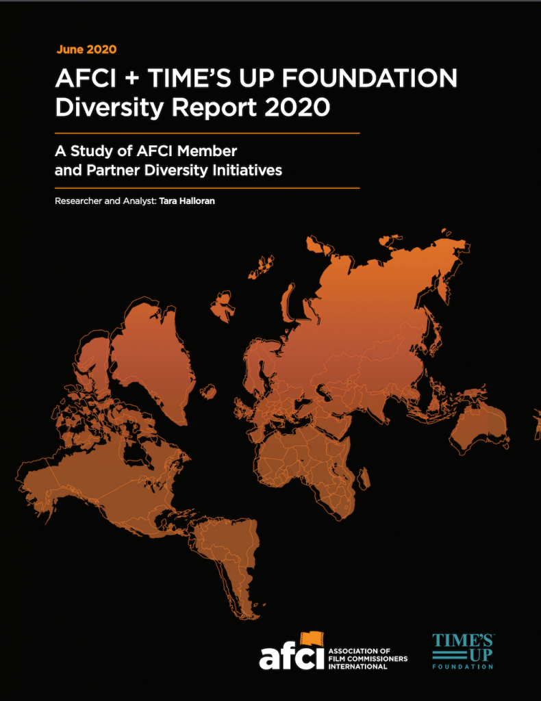 AFCI + TIME'S UP FOUNDATION Diversity Report 2020